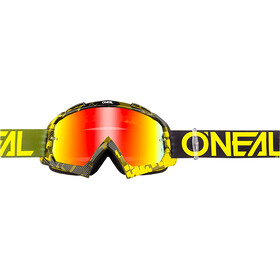 O'Neal B-10 Lunettes de protection, pixel neon yellow/green-radium